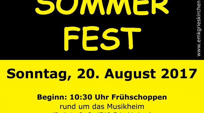 Sommerfest rund um's Musikheim